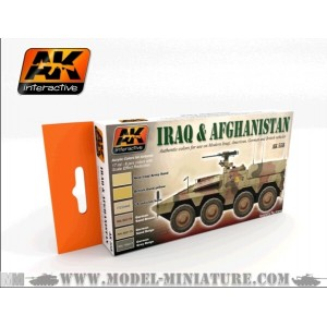 AK-Interactive: IRAQ AND AFGHANISTAN ACRILIC SET