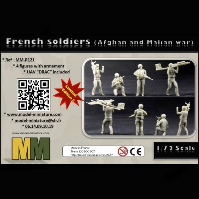 French soldiers (Afghan and Malian war)