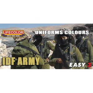 Lifecolor: uniforms colours, IDF Army