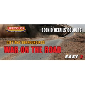 Lifecolor: War on the road, Scenic details colours