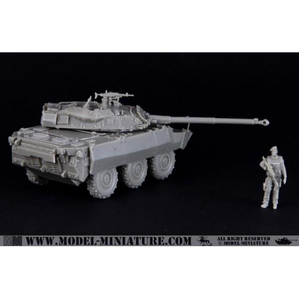 AMX-10 RCR 3RH véhicule français Model Miniature,1//72