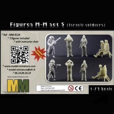 Figures M-M set 5 (Israeli soldiers)