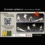 French soldiers (with Milan ATGM)