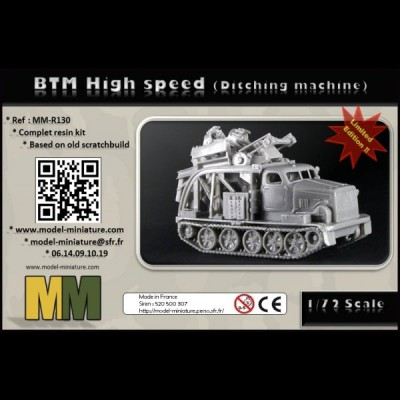 BTM High Speed (ditching machine)