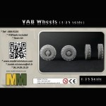 VAB Wheels (1/35 scale)