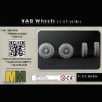 VAB Wheels (1/35 scale)