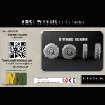 VBCI Wheels (1/35 scale)
