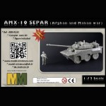 AMX-10 Separ (Afghan and Malian war)