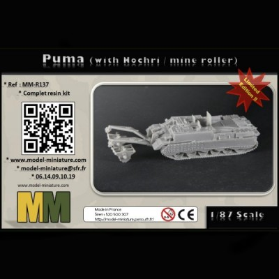 Puma (with Nochri / mine roller) 1/87scale