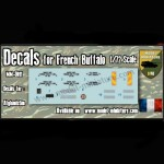 Decals for French Buffalo