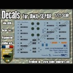 Decals for AMX Separ