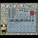 Decals for VBCI