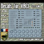 Decals for VBCI (set 2)