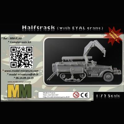 Halftrack (wth EYAL crane)