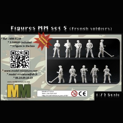 Fgures MM set 6 (French soldiers)