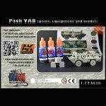 VAB pack: paint, equipment and model
