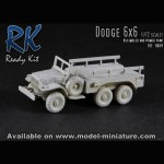 Dodge 6x6, Ready Kit, 1/72