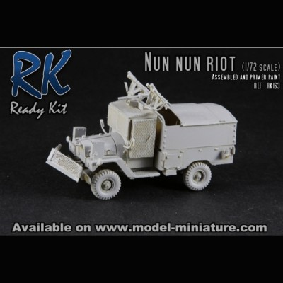 Nun Nun Riot, Ready kit, 1/72