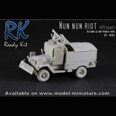 Nun Nun Riot, Ready kit, 1/72