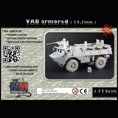 VAB armored (12.7mm)
