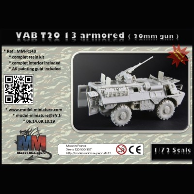 VAB T20-13 armored (20mm gun)
