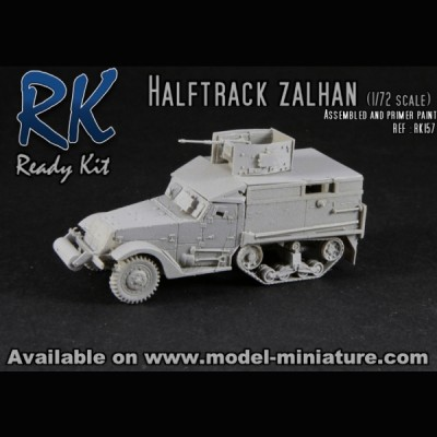 Halftrack Zalhan, Ready Kit, 1/72