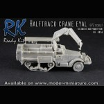 Halftrack crane Eyal, Ready Kit, 1/72