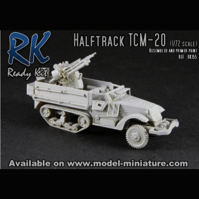 Halftrack TCM-20, Ready Kit, 1/72