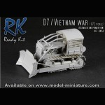 Bulldozer D-7/ Vietnam, Ready Kit, 1/72