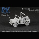 M-151 Mutt, Ready Kit, 1/72