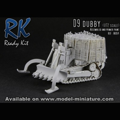 Bulldozer D-9 Dubby, Ready Kit, 1/72