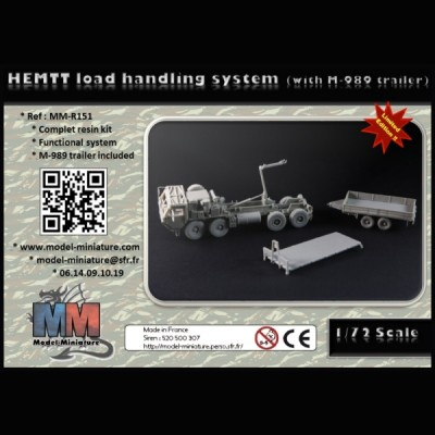 HEMTT load handing system (with M989 trailer)