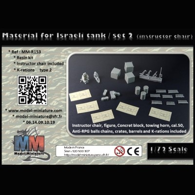 Material for israeli tank / set 2