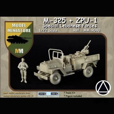 M-325 Nun Nun + ZPU-1