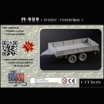 M-989 (trailer/ remorque)