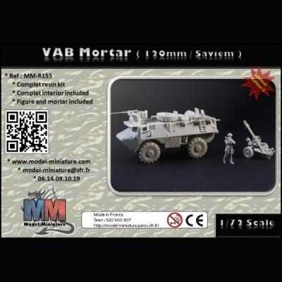 VAB Mortar (120mm / Saviem)