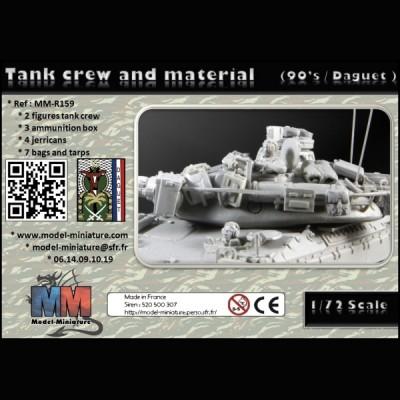 Tank crew and material (90's Daguet)