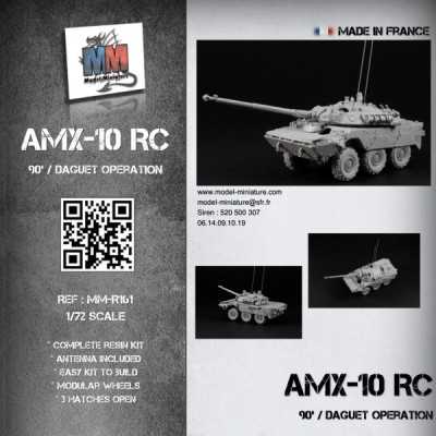 AMX-10 RC (90's / Daguet operation)