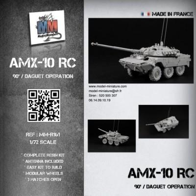 AMX-10 RC (90's / Daguet operation)