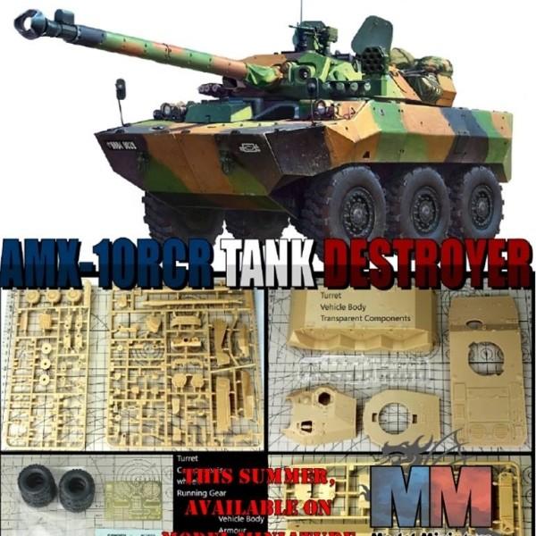 <b>AMX</b>-10 RCR , <b>1</b>/<b>35</b> - Model-Miniature