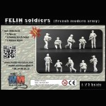 FELIN soldiers (french modern army)