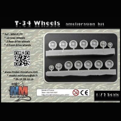T-34 wheels (amélioration kit)