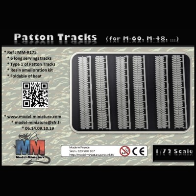 Patton tracks (for M-60, M-48...