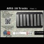 AMX-30 tracks (type 1)