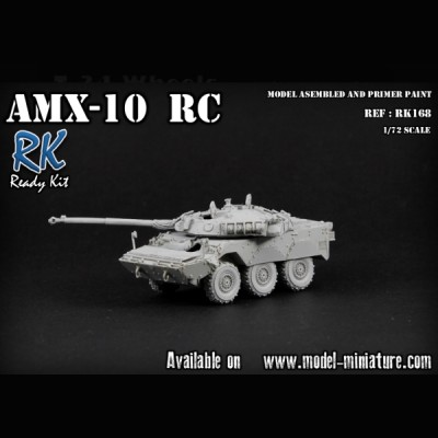 AMX-10 RC, Ready Kit, 1/72