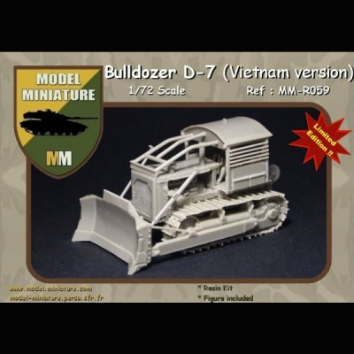 Bulldozer D-7 (Vietnam version)