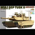 M1A2 SEP TUSK II Abrams, Tiger Model, 1/72