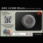AMX-10 RCR wheels, 1/35