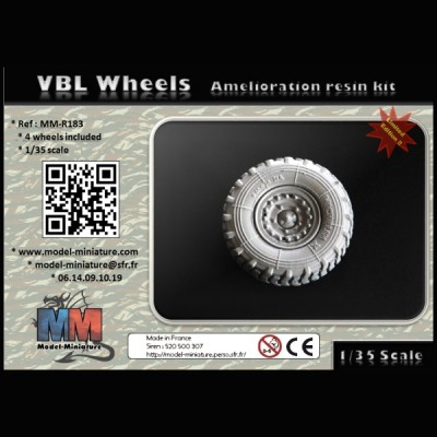 VBL wheels, 1/35