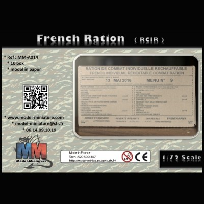 French Ration (RCIR), 1/72